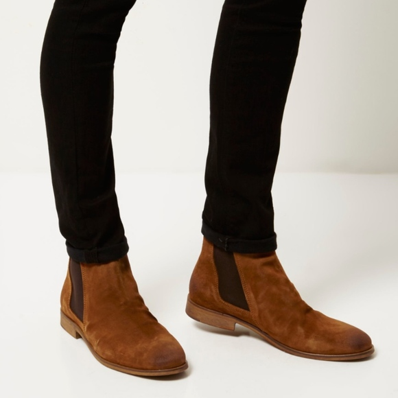 Mens Luxury Suede Boots   Poshmark